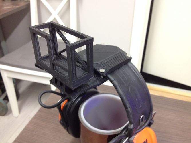 GoPro Headmount for headgear 3D Print 103198