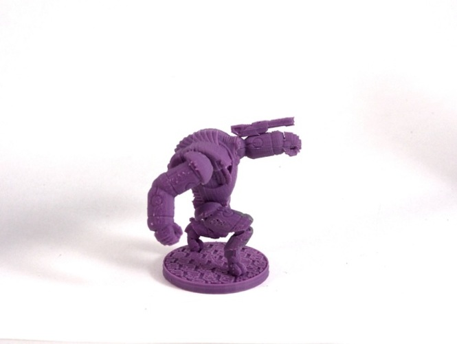 House Vermeni Guardian Mech, Advancing 3D Print 1032