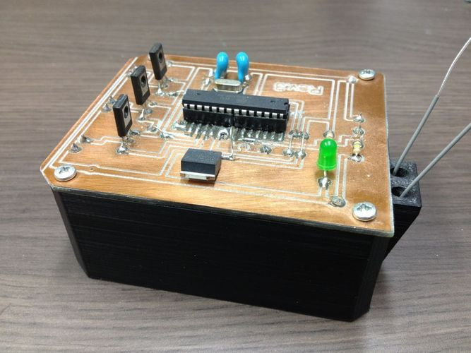 REMOTE ACTIVATED PRANK BOX 3D Print 103227