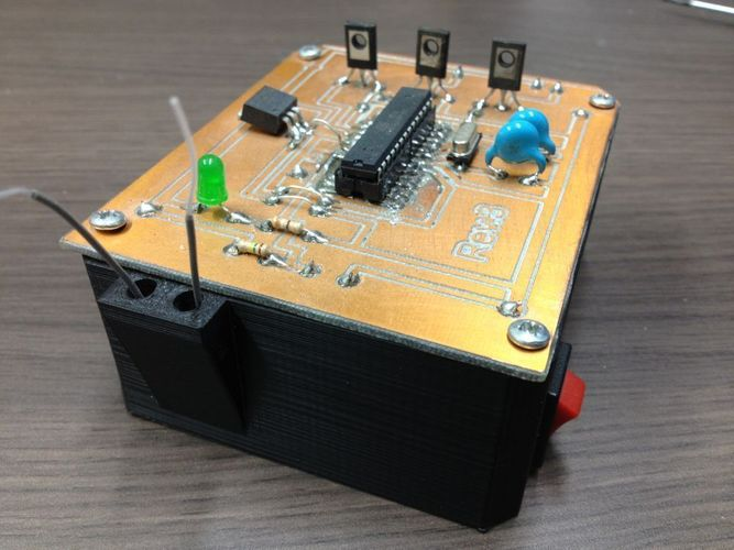 REMOTE ACTIVATED PRANK BOX 3D Print 103229