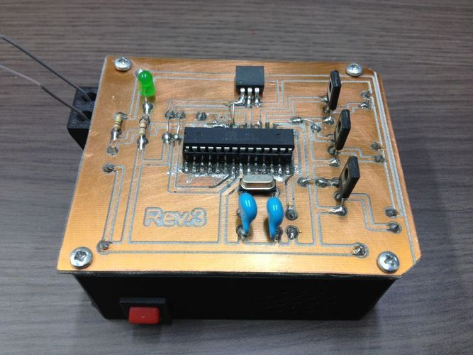 REMOTE ACTIVATED PRANK BOX 3D Print 103230