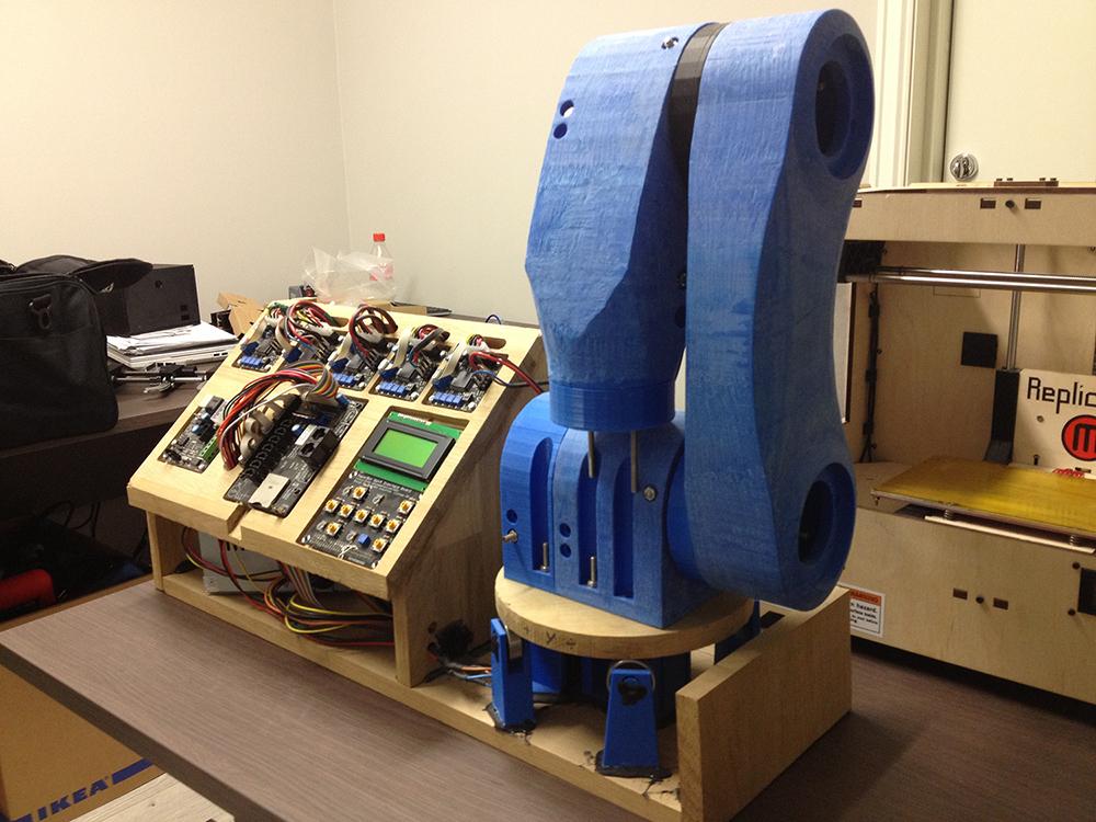 4 DOF 3D Printed Robotic Arm @ Pinshape
