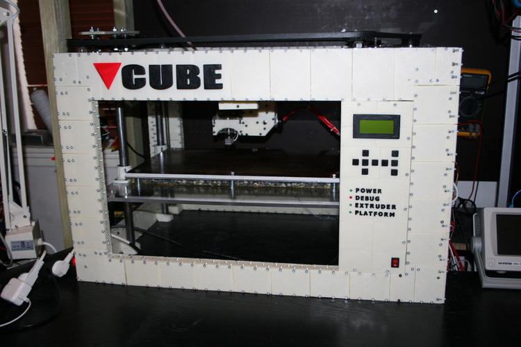 CUBE -The 3D printed 3D printer 3D Print 103272