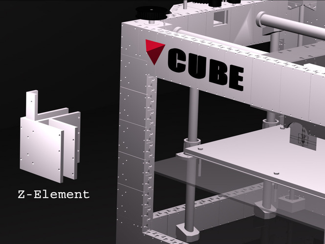 CUBE -The 3D printed 3D printer 3D Print 103273