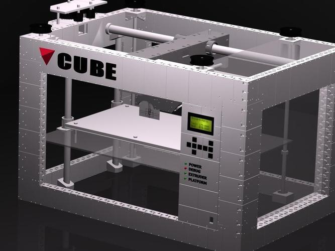 CUBE -The 3D printed 3D printer 3D Print 103274