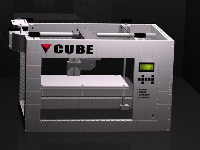 CUBE -The 3D printed 3D printer 3D Print 103276