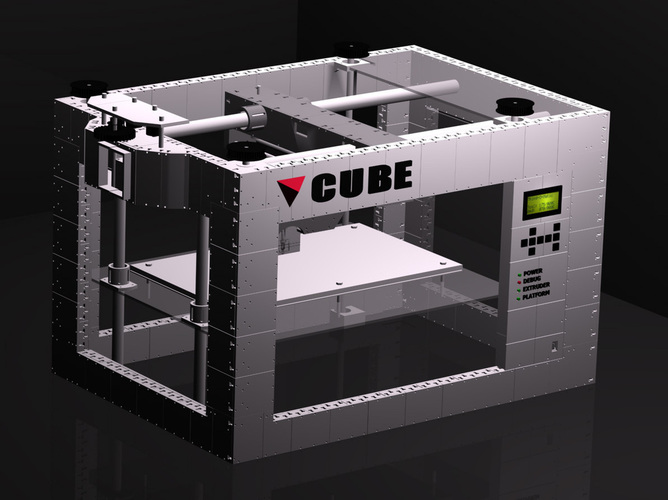 CUBE -The 3D printed 3D printer 3D Print 103277