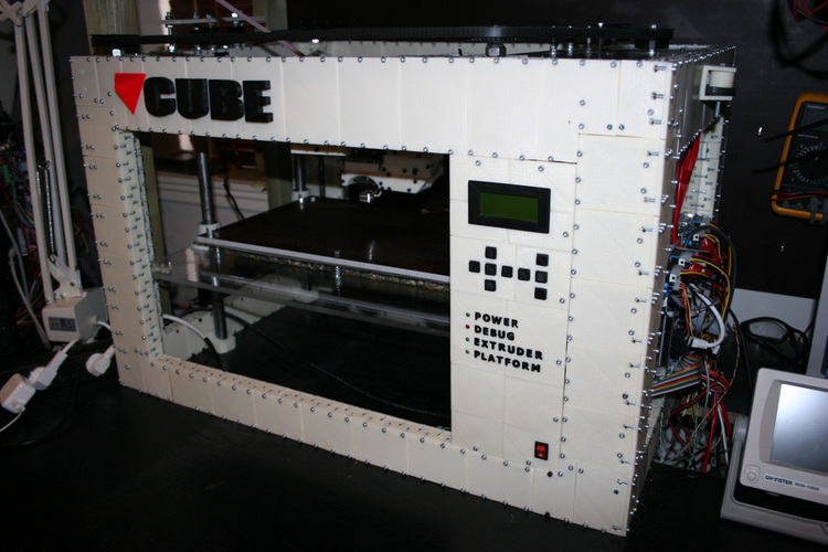 CUBE -The 3D printed 3D printer 3D Print 103279