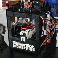 Small 3D printed full size makerbot 3D Printing 103320