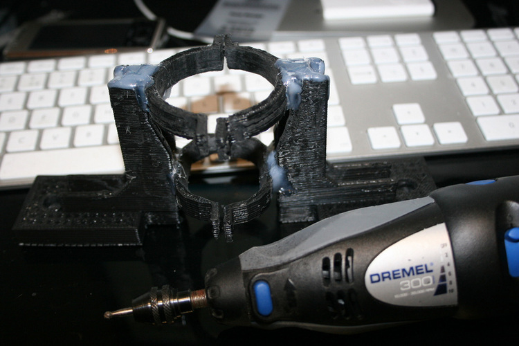 Dremel attachment, Fully makerbottable 3D Print 103336