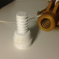 Small europe broom adaptor 3D Printing 103367