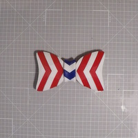 Small Independence Day Bow Tie 3D Printing 103449