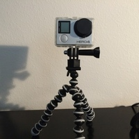 Small GoPro Tripod Mount 3D Printing 103465