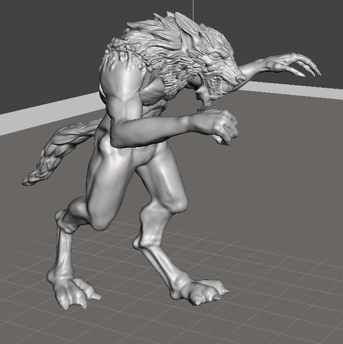 Escaped Werewolf 3D Print 103540