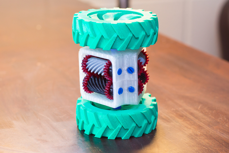 Locked Differential Drive 3D Print 103669