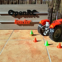 Small OpenRC Tractor 3D Printing 103693