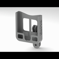 Small GoPro Mount and Phone Holder/Viewer 3D Printing 103726