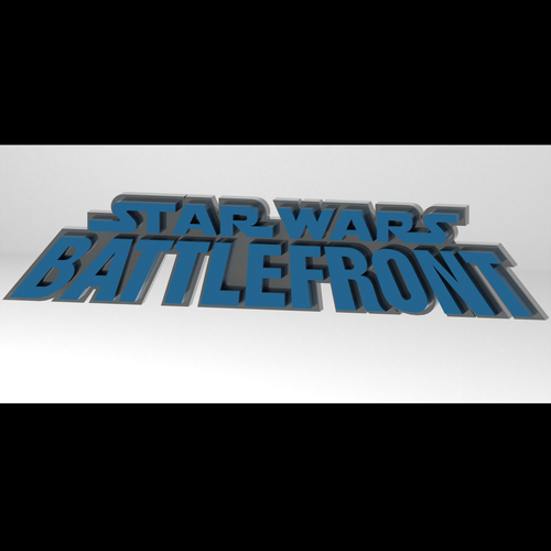 Star Wars Battlefront 1 by Pandemic 3D Print 103745