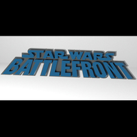 Small Star Wars Battlefront 1 by Pandemic 3D Printing 103745
