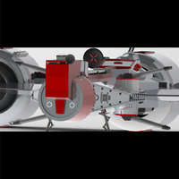 Small Star Wars Republic Frigate 3D Printing 103768
