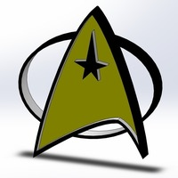 Small Star Trek 3D Printing 103809
