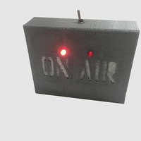 Small Flashing LED On Air Sign 3D Printing 103865