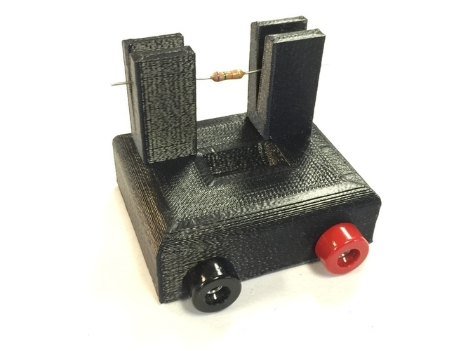 Resistor Tester Stand 3D Print 103871