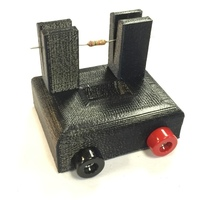 Small Resistor Tester Stand 3D Printing 103871