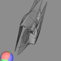 Small space ship 42 3D Printing 103923