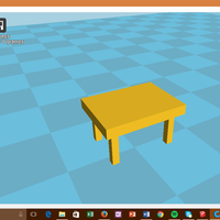 Small small table 3D Printing 103924