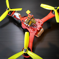 Small Micro tricopter Scrab by elPet 3D Printing 103926