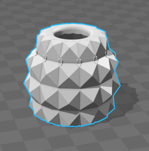 Pineapple flower pot 3D Print 103997