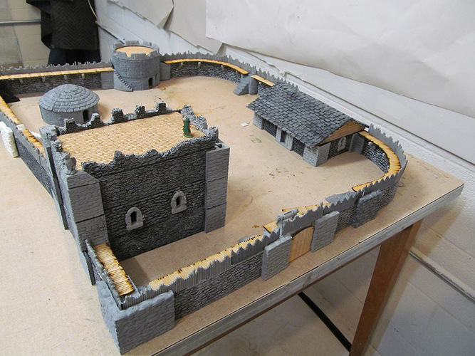 Complete Castle Expansion 1:Buildings & Dungeons 28mm-32mm 3D Print 104119