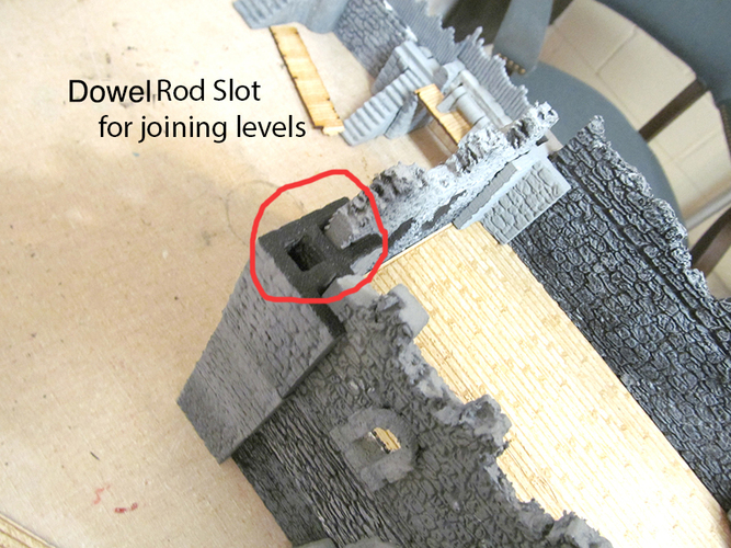 Complete Castle Expansion 1:Buildings & Dungeons 28mm-32mm 3D Print 104120