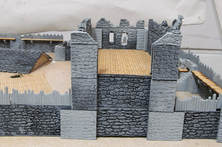 Complete Castle Expansion 1:Buildings & Dungeons 28mm-32mm 3D Print 104122