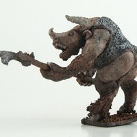 Small Minotaur 54mm 3D Printing 104140