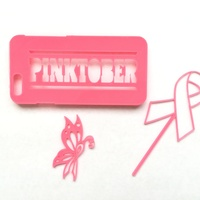 Small Pinktober! Support Breast Cancer Awareness Month! 3D Printing 104251