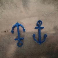 Small Anchors 3D Printing 104277