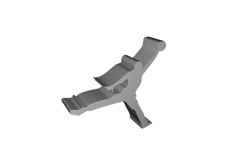 Jordan Logo Figure 3D Print 104313