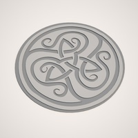 Small Celtic knot easy print 3D Printing 104396