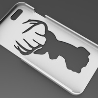 Small iPhone 6 Basic Case deer 3D Printing 104401