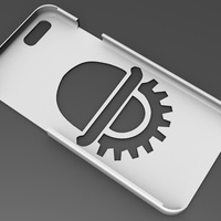 Small iPhone 6 Basic Case naranja mecanica 3D Printing 104404