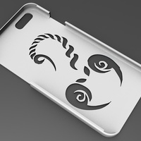 Small iPhone 6 Basic Case scorpion 3D Printing 104407