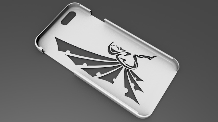 iPhone 6 Basic Case tribal fairy 3D Print 104408