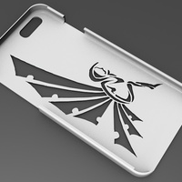 Small iPhone 6 Basic Case tribal fairy 3D Printing 104408