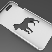 Small iPhone 6 Basic Case pitbull 3D Printing 104414