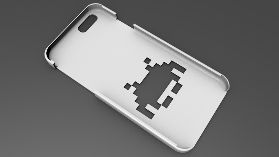 iPhone 6 Basic Case  space invaders 3D Print 104415