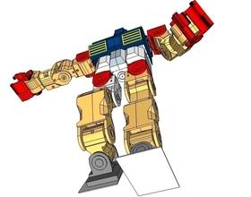 Pin Humanoid - M1 - Design concept 3D Printing 104482