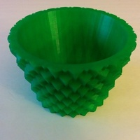 Small Geometric Pot 3D Printing 104645