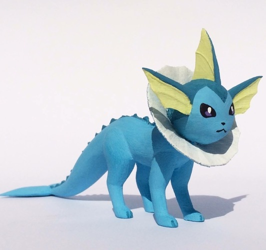 Vaporeon Pokemon Eevee evolution 3D Print 104657